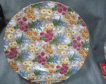 "Royal Winton Grimwades, Marguerite 7-3/4""salad plate"