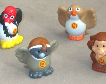 Fisher-Price Little People four Alphabet Animals