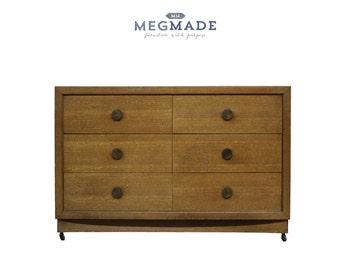 1032-02148 Customizable 6 drawer dresser