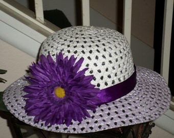 Staw Hats For Little Girls- Spring Hats For Little Girls - Straw Hats For Girls - Church Hats For Little Girls - Girls Summer Staw Hats