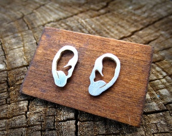 Tiny EARrings - Sterling Silver