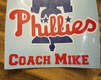 Phillies YETI decal