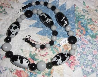"Necklace 24"" long ""COWS"" #300"