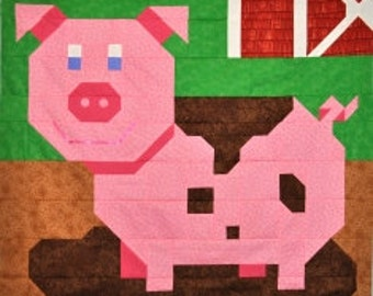 PIG Quilt Pattern