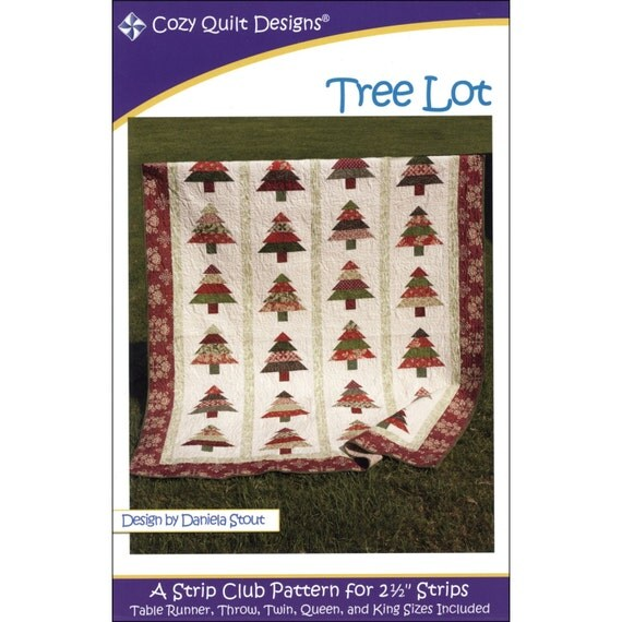 Pattern Tree Lot Quilt Pattern By Cozy Quilt By