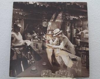 "Led Zeppelin - ""In Through The Out Door"" vinyl record w/ Original Inner Sleeve"