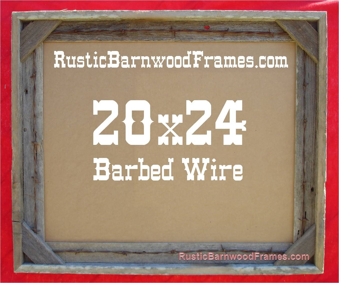 20x24 barbed wire rustic barn wood aged weathered reclaimed 20x24 barbed wire rustic barn wood aged weathered reclaimed primitive photo picture frame 20 x 24 unfinished repurposed barnwood frames jeuxipadfo Choice Image