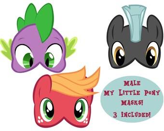 Male My Little Pony Masks- 3