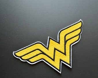 Wonder women iron on patch