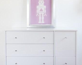 Robot Screen Art