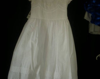 Communion dress size 7