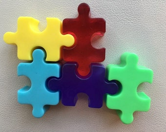 AUTISM AWARENESS- SPA Uptownfor Charity- set of 5 soaps