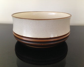 "Denby Langley Potter's Wheel Rust Vegetable Bowl 7 1/4"""