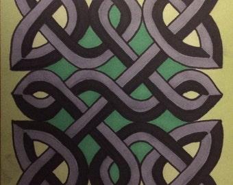 Celtic Knot Prints 3