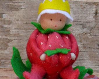Strawberry King - download PDF pattern