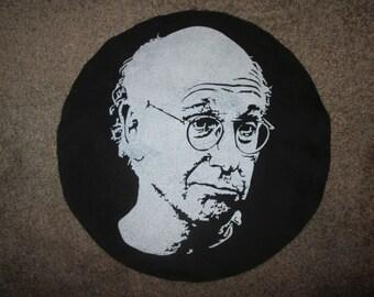 Larry David Back Patch - Print, Screen Print, Punk, Patch, Stencil, Art, Horror, Curb Your Enthusiasm.