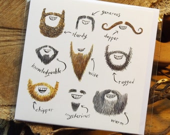 Beards Card