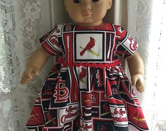 Bitty Baby St. Louis Cardinals baseball dress