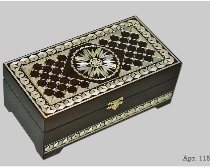 Jewelry box. Casket from Russia. Original gift. #С 1151-01. #52
