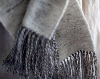 Cashmere Hand-Woven Scarf