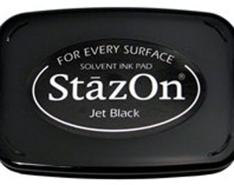 Staz On Permanent Ink Pad for Multiple Surfaces
