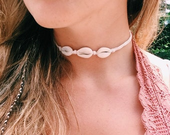 Cowrie Shell Choker/Anklet