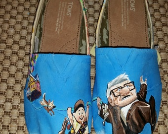 HAND PAINTED UP Toms