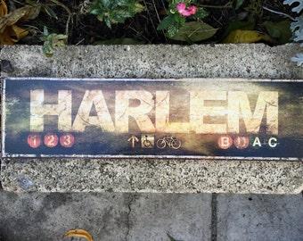 Harlem - 4x15 in.
