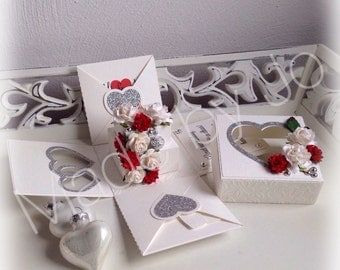 Wedding box Digital cutting file.
