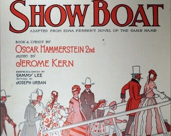 """1927 Sheet Music For """"Make Believe"""" From The Musical """"Show Boat"""