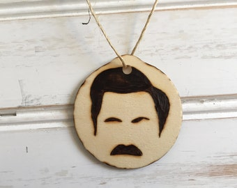 Ron Swanson Holiday Ornament