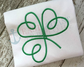 SHAMROCK SWIRL machine embroidery design