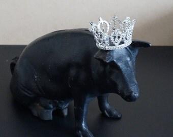 Vintage, Cast Iron Pig Piggy Bank