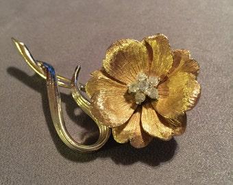 Vintage Boucher Flower Brooch
