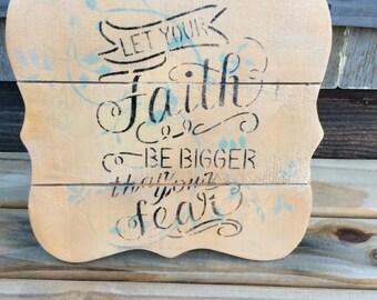 Faith and fears