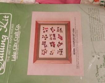 Quilling Kit Berry Sampler Kit #266. 1984