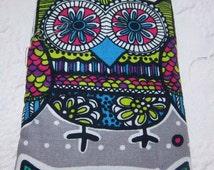 OWL, coloring book design, Zentangle, Eyeglass/iPhone/large sunglasses cases