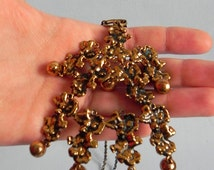 Rare vintage Pentti Sarpaneva Turun Hopea Finland signed big brutalist bronze pendant . Scandinavian modernist Nordi jewel design.