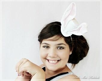 White Rabbit Hat , Mad Hatter Hat , Tea Party Hat , Mini Top Hat Fascinator , White Rabbit Costume, Mini Top Hats, Mini Hat