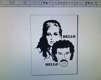 Adele lionel ritchie decal, funny adele decal, adele sticker, adele decal, adele hello, adele hello decal, adele Ritchie sticker