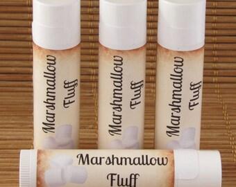 Marshmallow Fluff Flavored Lip Balm - Handmade All Natural Lip Balm