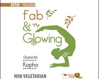 Fab and Glowing Kapha non-Vegetarian Detox or Cleanse Program