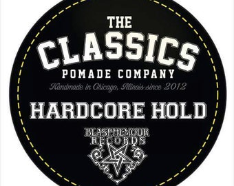 The Classics Pomade Co/Blasphemour Records Collab