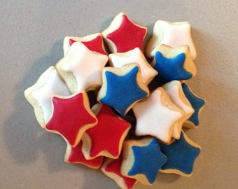 2 dozen Mini Star Sugar Cookies