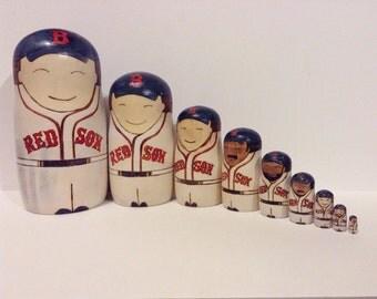 Set of 9 Custom Nesting Dolls