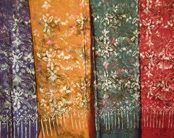 Gorgeous sarong  in premium quality in 3 different colors, new