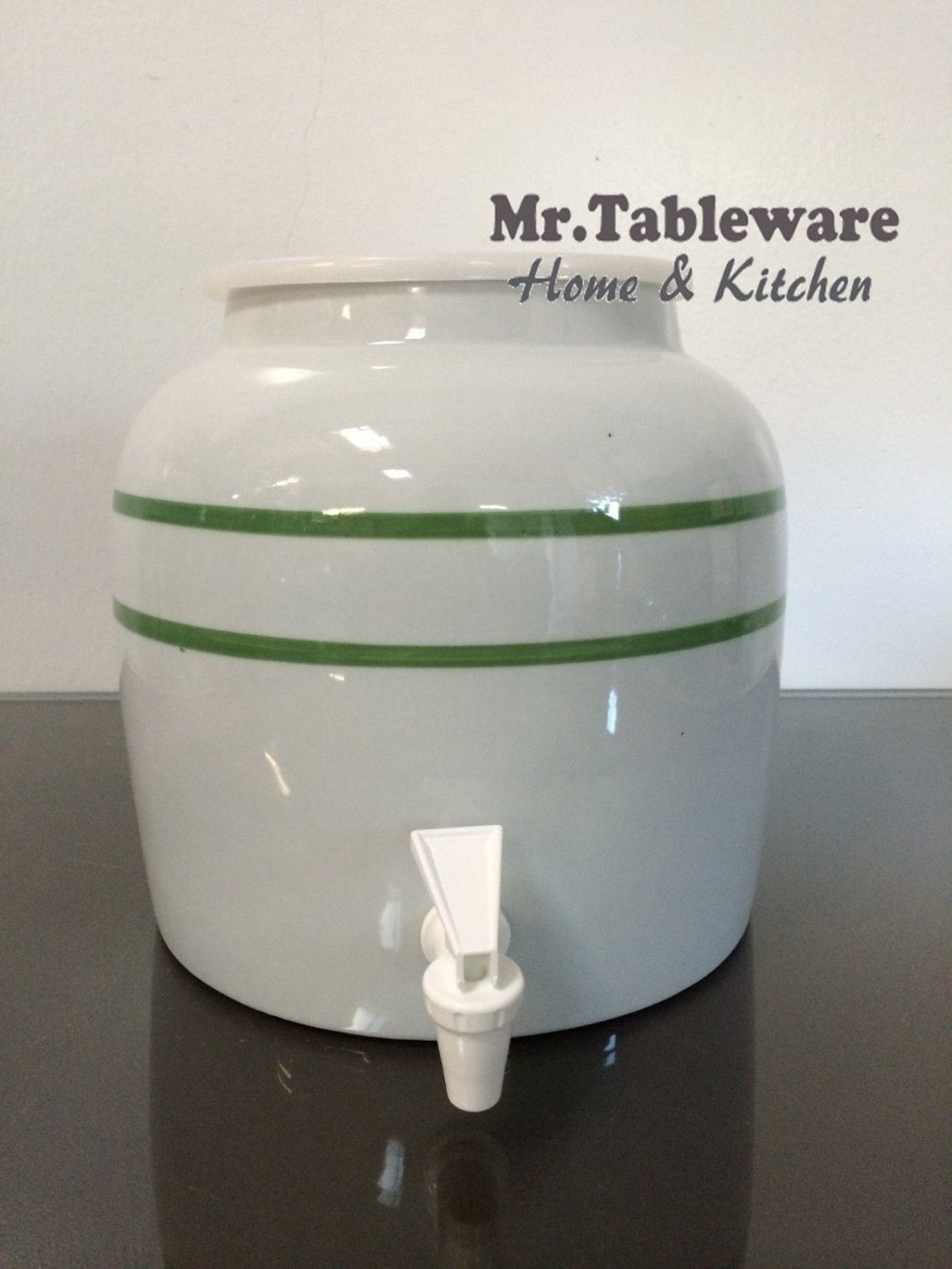2 5 Gallon Ceramic Beverage Dispenser New 2 5 Gallon Glass