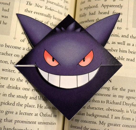 Gengar Bookmark