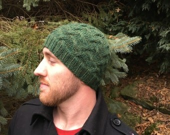 PATTERN: Rolling Hills Cable Hat