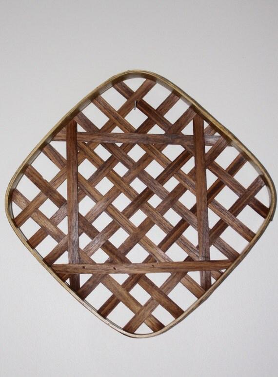 Handmade Baskets North Carolina : Tobacco basket reproduction north carolina